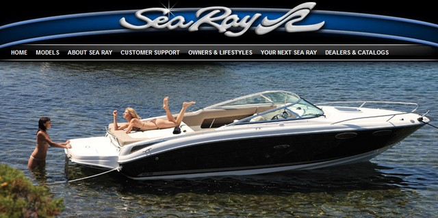 Sea Ray 240 Sun Sport Boat
